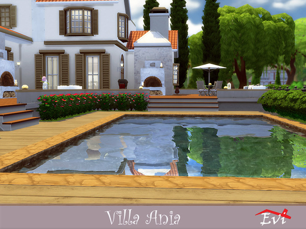 Villa Ania by evi at TSR image 3015 Sims 4 Updates