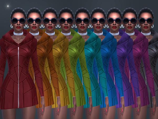 Selevia dress by jomsims at TSR image 3027 Sims 4 Updates