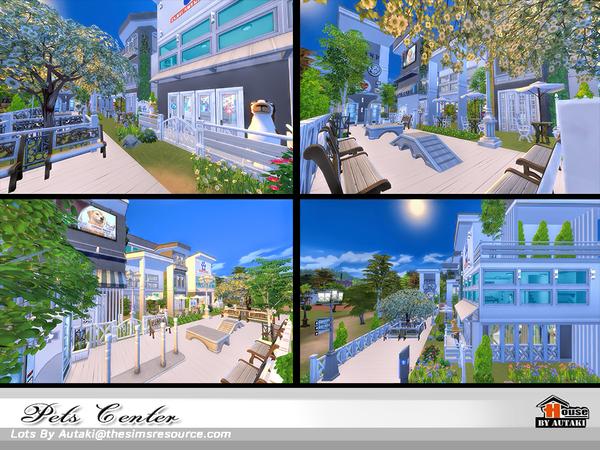 Sims 4 Pets Center NoCC by autaki at TSR
