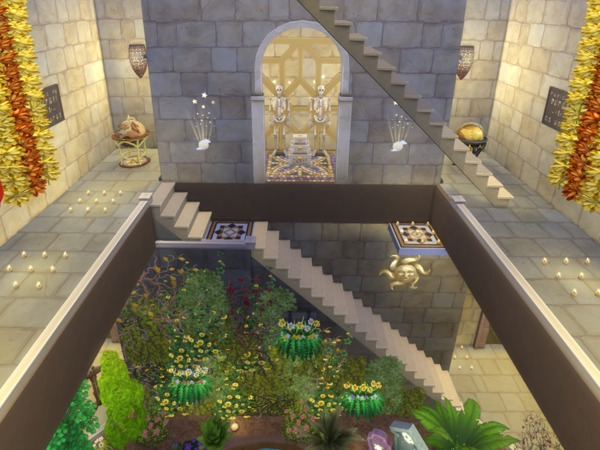 The Forgotten Temple by kilra at TSR image 3103 Sims 4 Updates