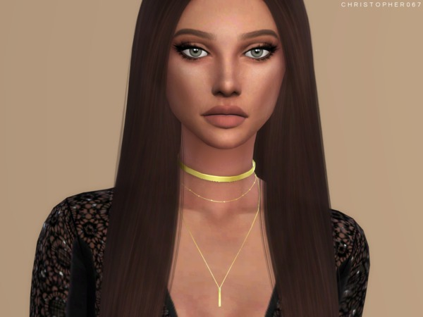 Lovato Necklace 2 Versions by Christopher067 at TSR image 3110 Sims 4 Updates