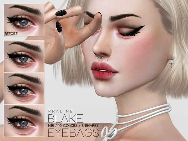 Blake Eyebags N18 by Pralinesims at TSR image 3112 Sims 4 Updates