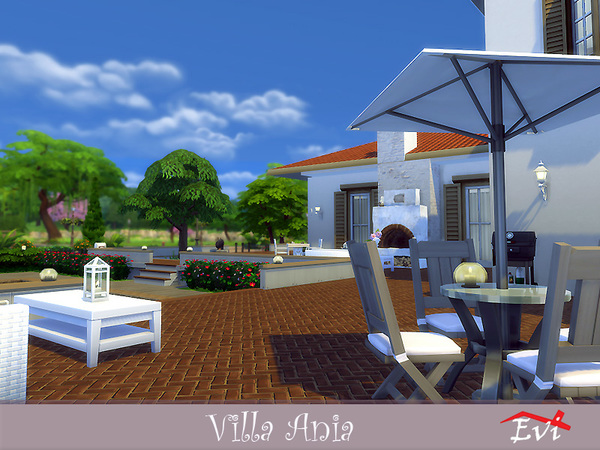 Villa Ania by evi at TSR image 3116 Sims 4 Updates