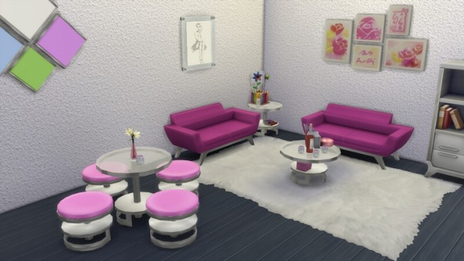 Bernies Living Room by LaLunaRossa at About Sims image 315 670x377 Sims 4 Updates