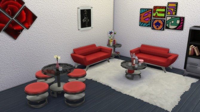 Bernies Living Room by LaLunaRossa at About Sims image 317 670x377 Sims 4 Updates