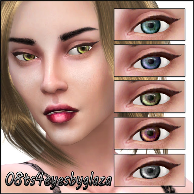 Eyes #08 at All by Glaza image 3191 Sims 4 Updates