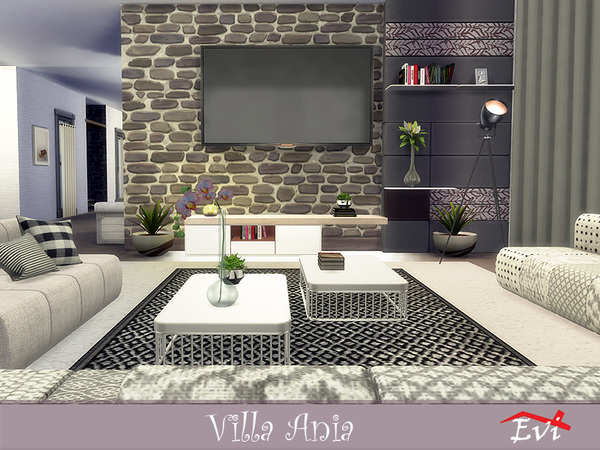 Villa Ania by evi at TSR image 3215 Sims 4 Updates