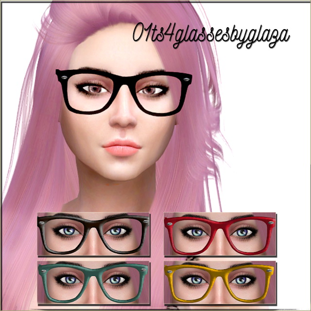 Sims 4 Glasses #07 at All by Glaza