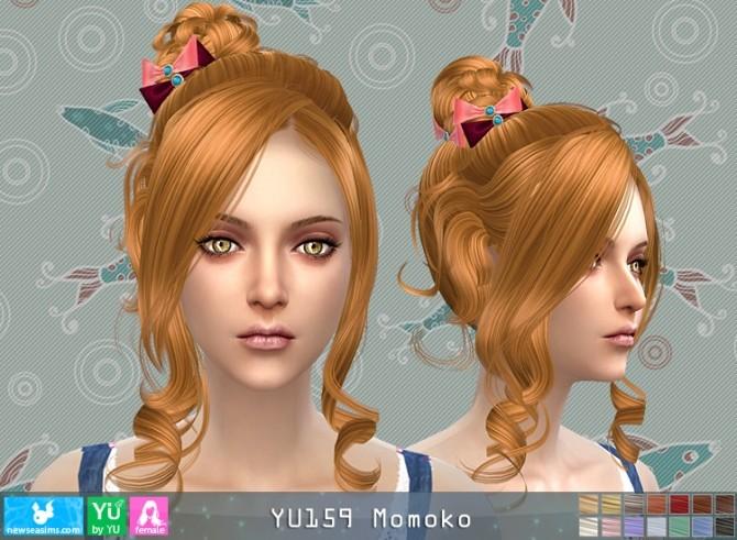 Sims 4 YU159 Momoko hair (Pay) at Newsea Sims 4
