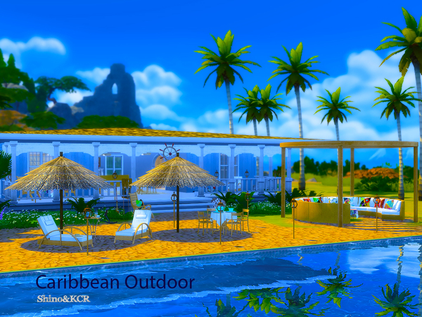 Outdoor Caribbean by ShinoKCR at TSR image 3319 Sims 4 Updates