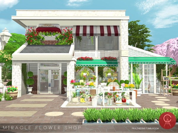 Miracle Flower Shop by Pralinesims at TSR image 3320 Sims 4 Updates