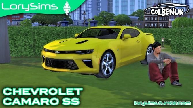 Sims 4 Chevrolet Camaro SS at LorySims