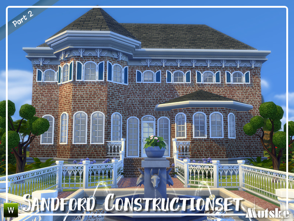 Sims 4 Sandford Construction set part 2 by mutske at TSR