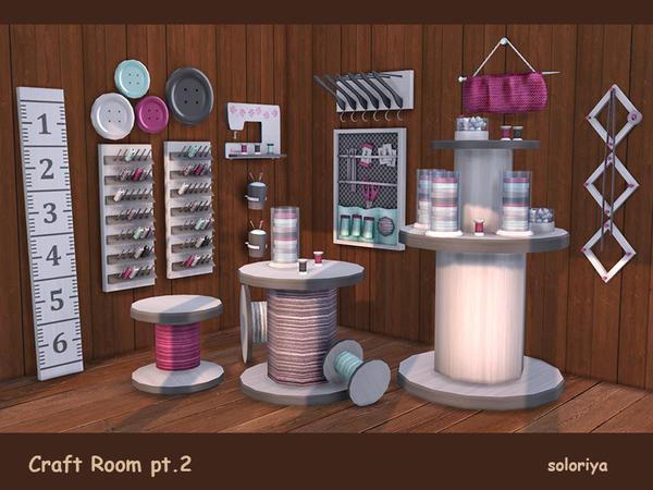 Craft Room Part 2 by soloriya at TSR image 3415 Sims 4 Updates