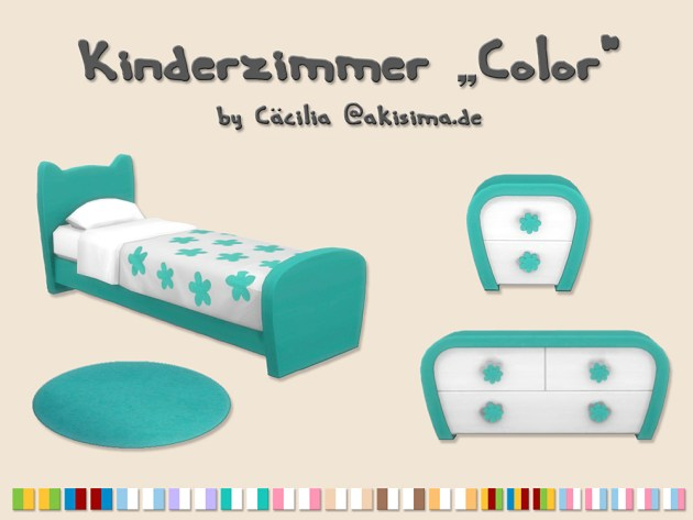 Color kidsroom by Cacilia at Akisima image 3417 Sims 4 Updates
