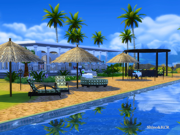Outdoor Caribbean by ShinoKCR at TSR image 3419 Sims 4 Updates