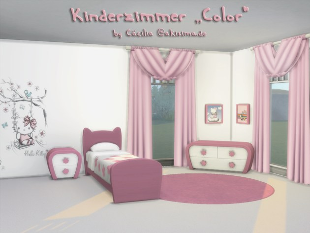 Color kidsroom by Cacilia at Akisima image 3421 Sims 4 Updates