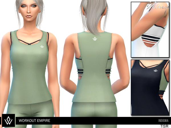 Sims 4 Insignia Tank by ekinege at TSR