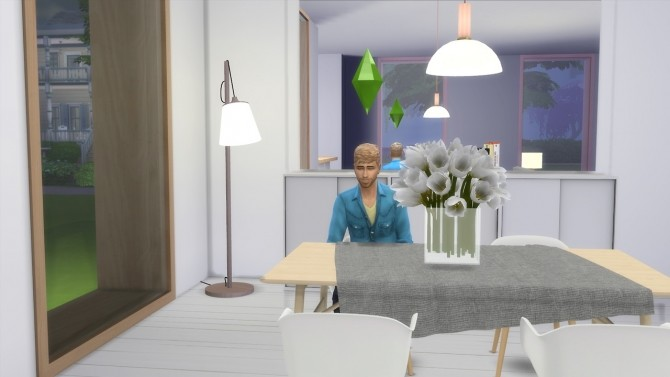 Sims 4 PULL FLOOR LAMP at Meinkatz Creations