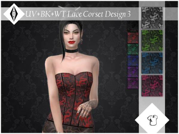 Lace Corset Design 3 Top by ALExIA483 at TSR image 3511 Sims 4 Updates