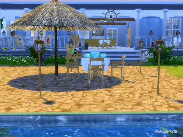 Outdoor Caribbean by ShinoKCR at TSR image 3518 Sims 4 Updates