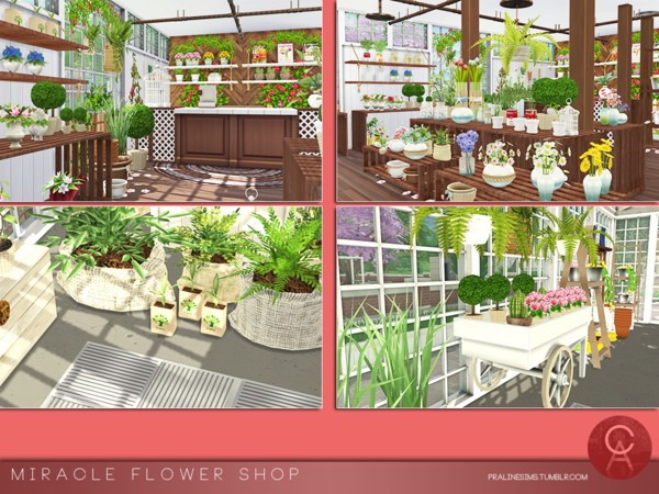 Miracle Flower Shop by Pralinesims at TSR image 3519 Sims 4 Updates