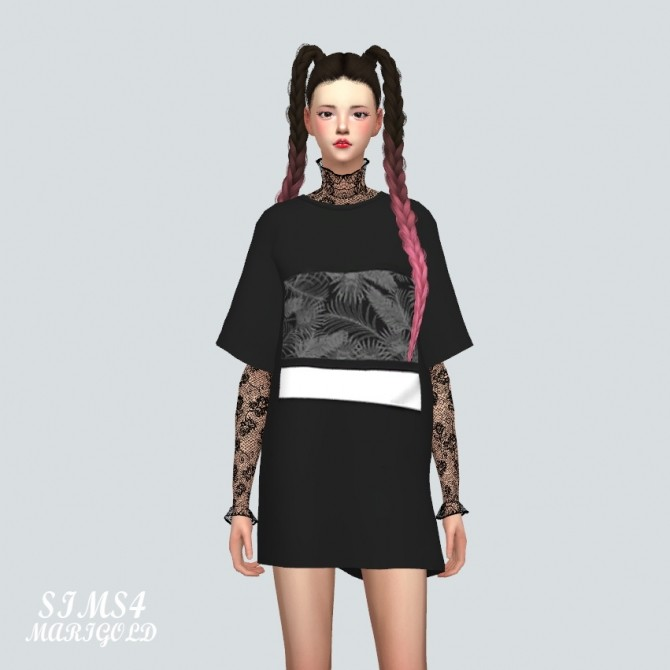 Boxy T Shirts at Marigold image 3601 670x670 Sims 4 Updates