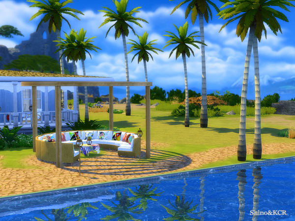 Outdoor Caribbean by ShinoKCR at TSR image 3616 Sims 4 Updates