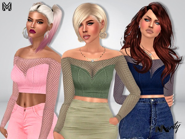 MP Zeta Top by MartyP at TSR image 363 Sims 4 Updates