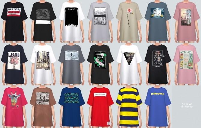 Boxy T Shirts at Marigold image 3631 670x428 Sims 4 Updates