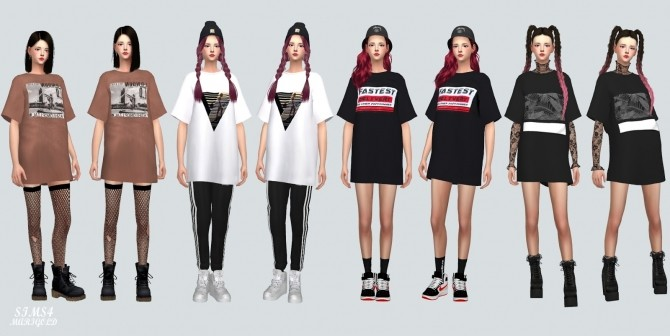 Boxy T Shirts at Marigold image 3641 670x336 Sims 4 Updates