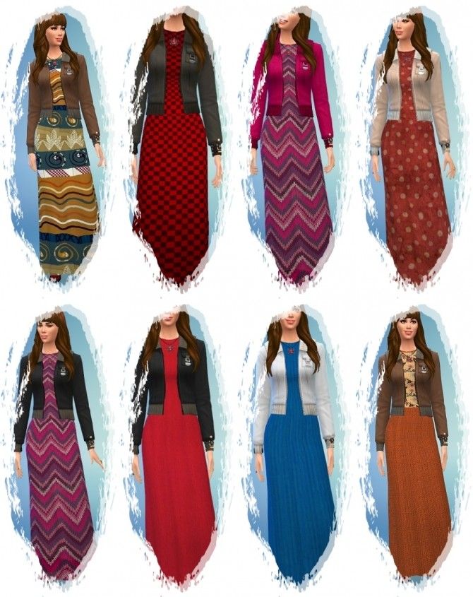Winter Knitting Dress at Birksches Sims Blog image 371 670x845 Sims 4 Updates