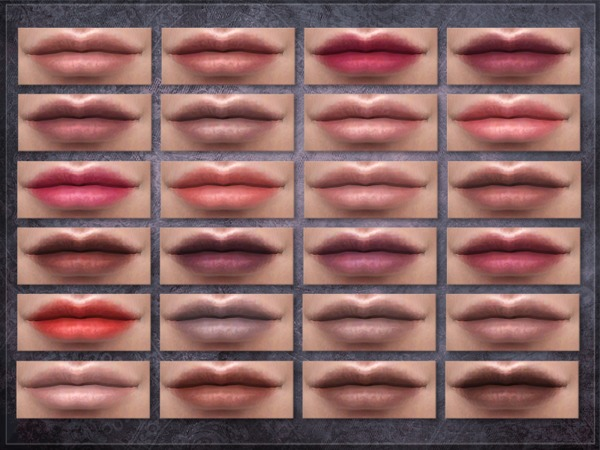 Sims 4 Mechanism Lipstick by RemusSirion at TSR
