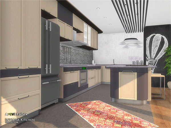 Integra Kitchen by ArtVitalex at TSR image 3714 Sims 4 Updates