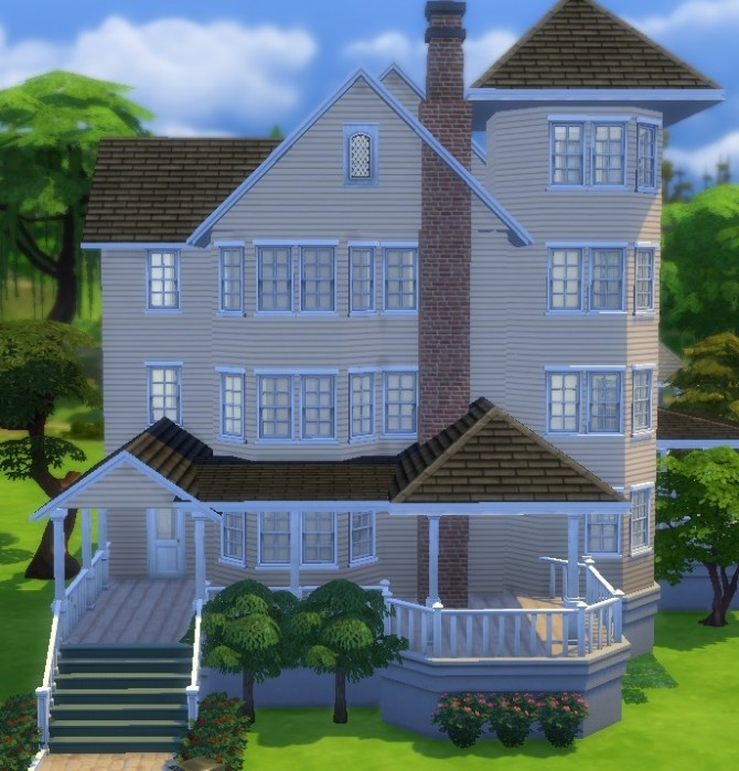 210 Wright Way house by train nerd24 at Mod The Sims image 3727 670x699 Sims 4 Updates