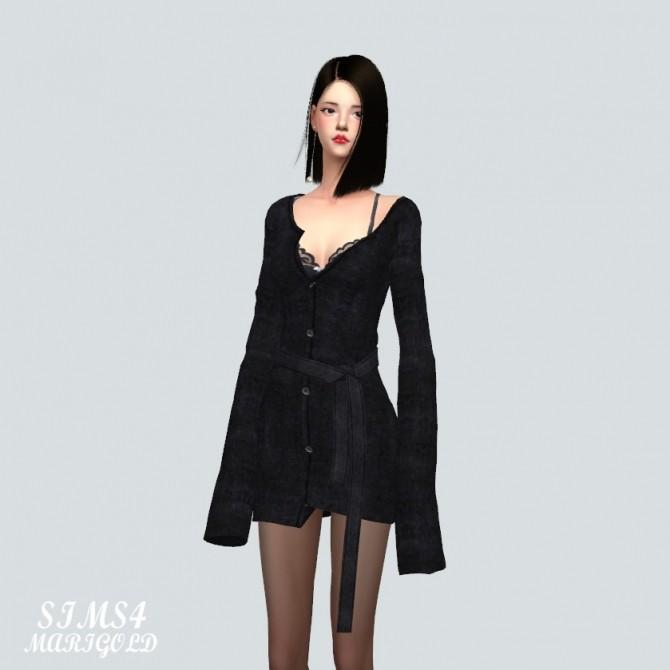 Cardigan Dress at Marigold image 3741 670x670 Sims 4 Updates