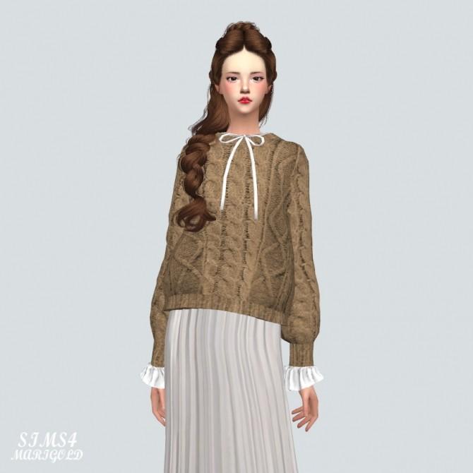 Sims 4 Frill Sweater at Marigold