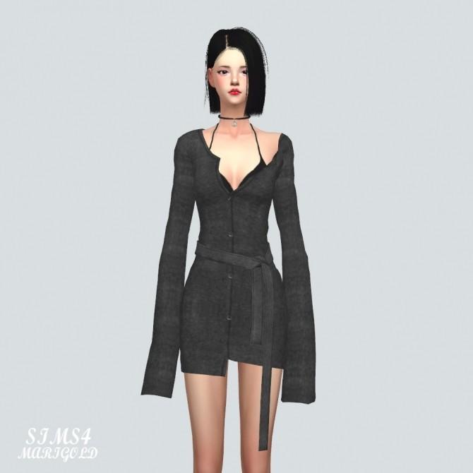 Cardigan Dress at Marigold image 3771 670x670 Sims 4 Updates