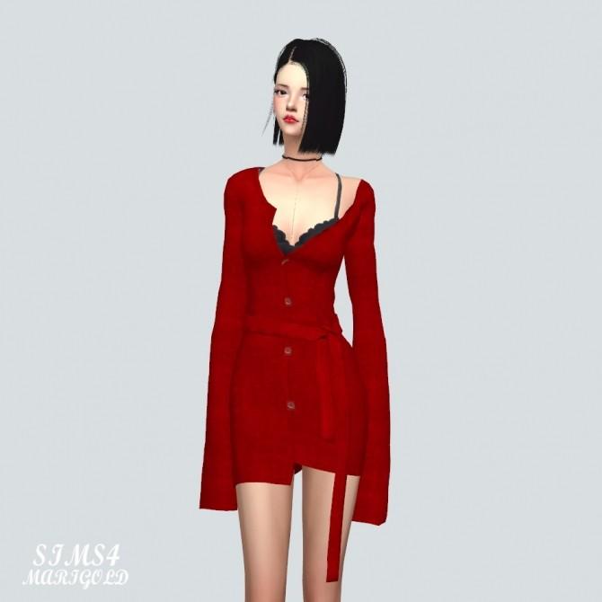 Cardigan Dress at Marigold image 3781 670x670 Sims 4 Updates