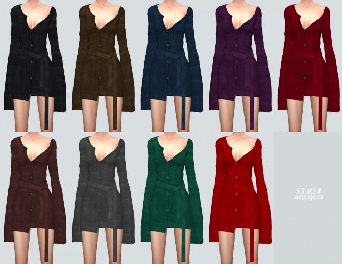 Cardigan Dress at Marigold image 3791 670x518 Sims 4 Updates