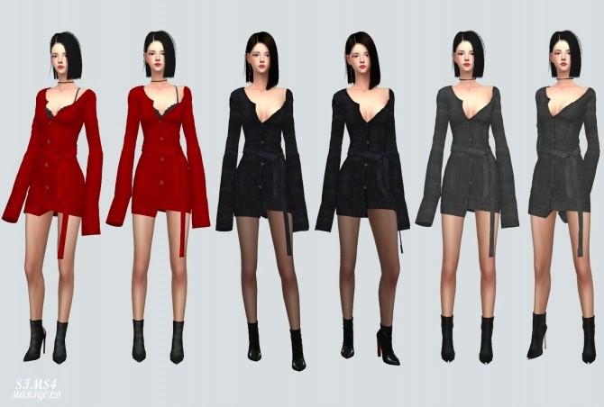 Cardigan Dress at Marigold image 3801 670x452 Sims 4 Updates