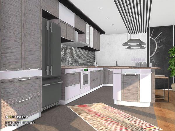 Integra Kitchen by ArtVitalex at TSR image 3813 Sims 4 Updates