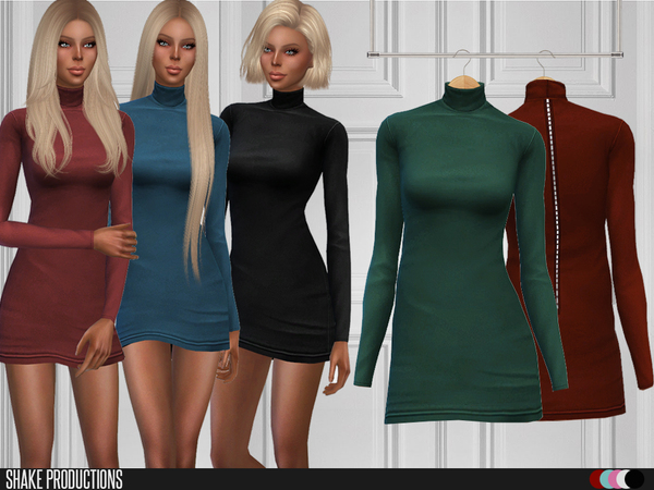 Sims 4 Dress 94 by ShakeProductions at TSR