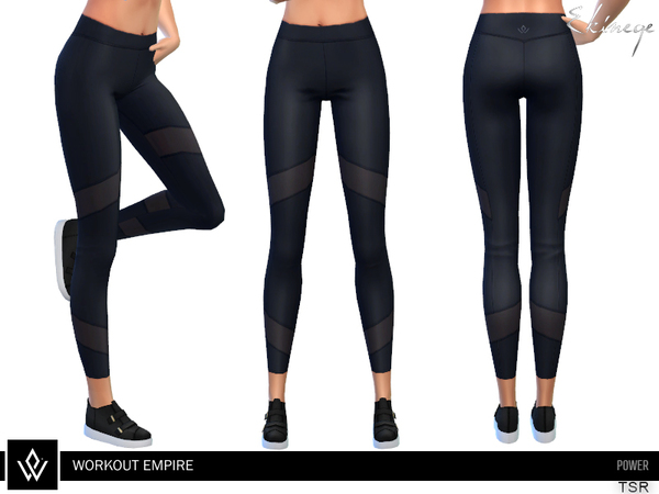 Power Tights by ekinege at TSR image 3824 Sims 4 Updates