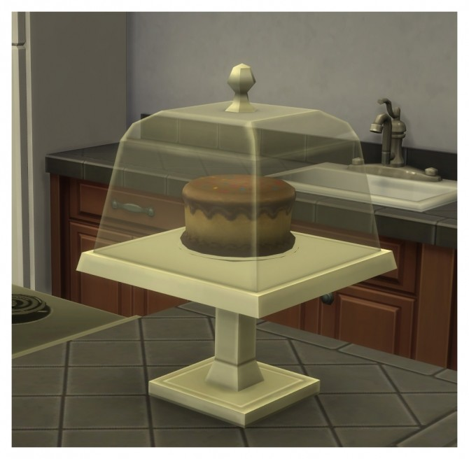 Functional Cake Stand With Optional GtW Version by Menaceman44 at Mod The Sims image 3828 670x656 Sims 4 Updates