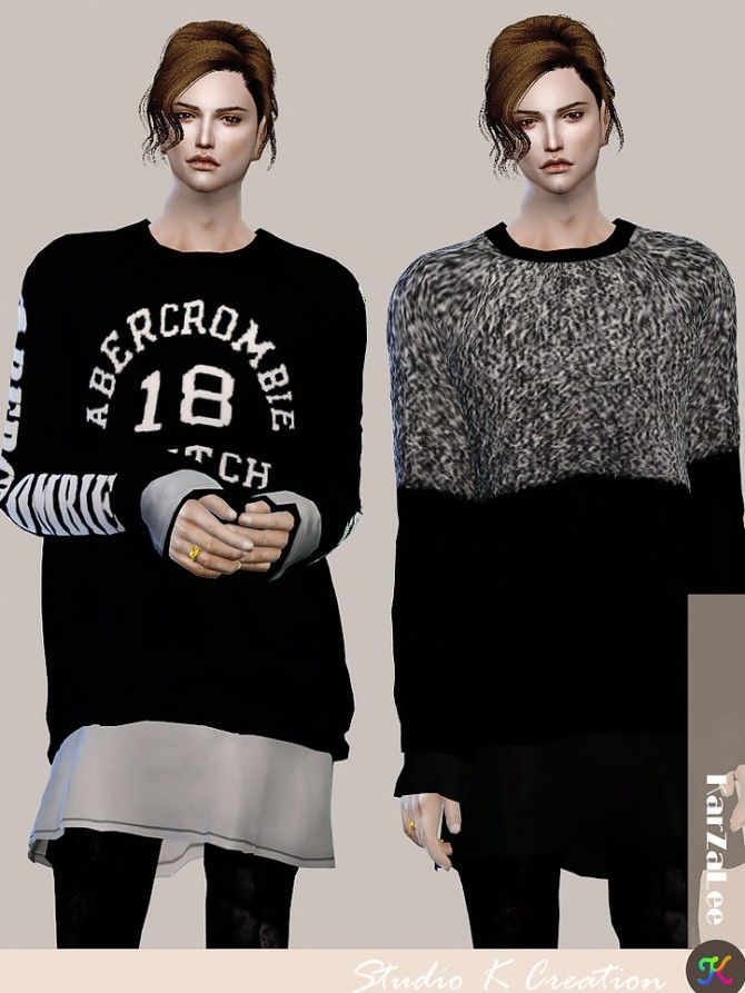 Giruto 44 Layer Sweater at Studio K Creation image 3851 670x893 Sims 4 Updates
