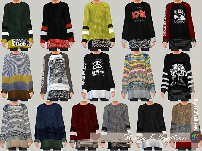Sims 4 Giruto 44 Layer Sweater at Studio K Creation