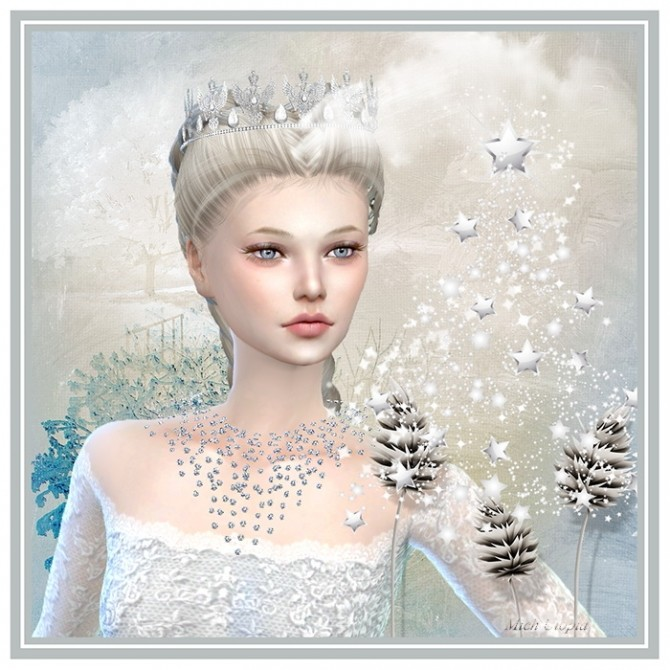 Sims 4 Winter Lady by Mich Utopia at Sims 4 Passions