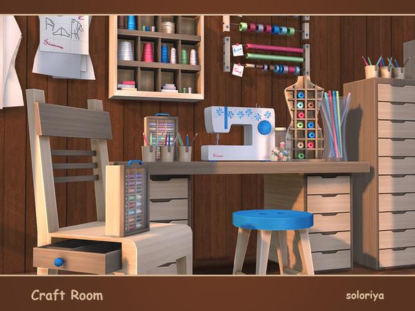 Craft Room by soloriya at TSR image 3910 Sims 4 Updates