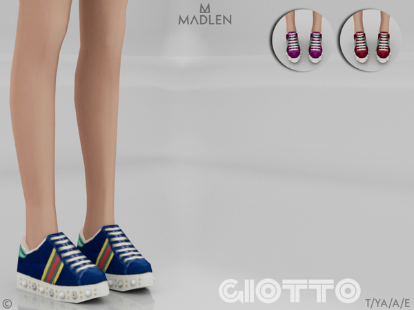 Sims 4 Madlen Giotto Shoes by MJ95 at TSR